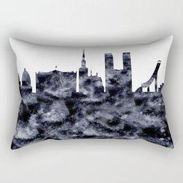 Oslo Skyline Norway Rectangular Pillow