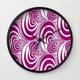 "Koloman (Kolo) Moser ""Textile pattern (Swirls)"" (3) Wall Clock"