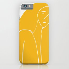 Gently weeps iPhone Case