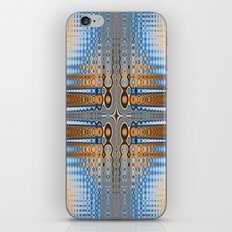 Abstract stained glass  iPhone Skin
