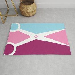 Pop Art Scissors Rug