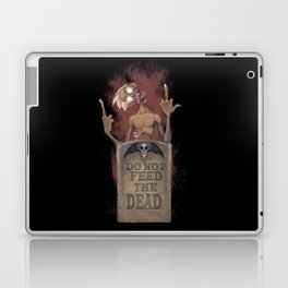 DO NOT FEED THE DEAD Laptop & iPad Skin
