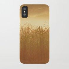 Field Grass in the Mist  2 iPhone X Slim Case