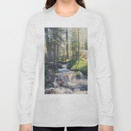 a mountain stream ... Long Sleeve T-shirt