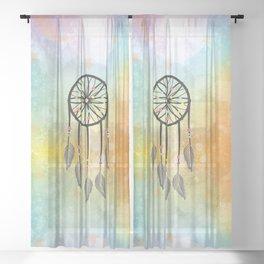 Sweet Dreams Dreamcatcher Sheer Curtain