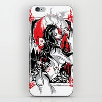 witchcraft iPhone & iPod Skins featuring Witchcraft by edison zhou