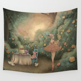 Flowers for the Table Wall Tapestry