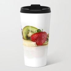 Exotic fruit Metal Travel Mug