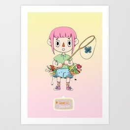 Your pockets are full! Art Print
