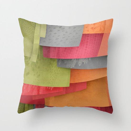 Explore colour Throw Pillow