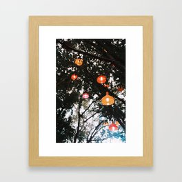 Pop Light Framed Art Print