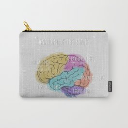 anatomy of the brain Carry-All Pouch