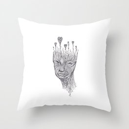 Love In Mind Throw Pillow