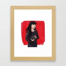 Reiko Framed Art Print