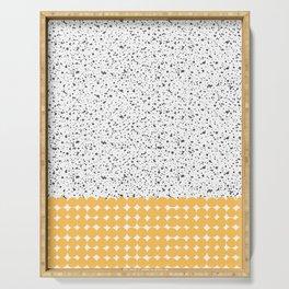 Dots pattern Serving Tray