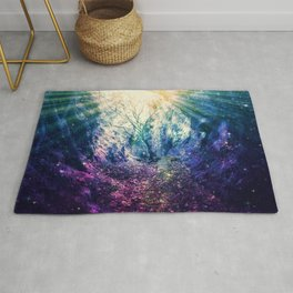 Light At The End of the Tunnel : Deep Pastels Rug