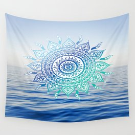 Sea Mandalla Wall Tapestry