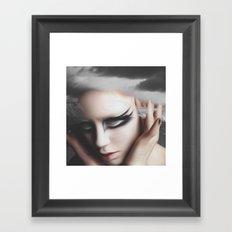 The innocence of Her  Framed Art Print