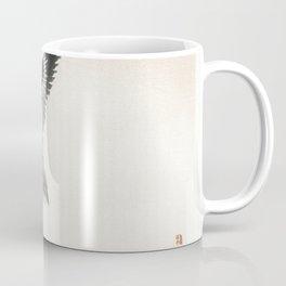 Sparrow by Kono Bairei (1844-1895) Coffee Mug
