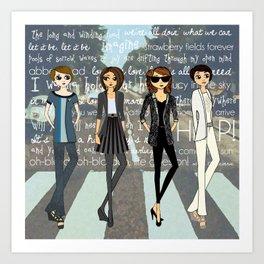 Beatlemania Art Print