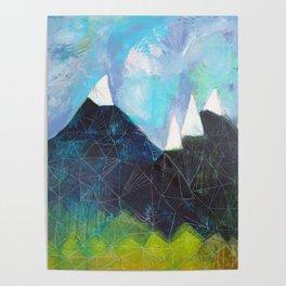Matterhorn Cirque Mountain Peaks Poster