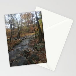 Quiet Autumn Creek Stationery Cards