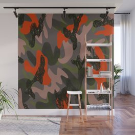 Camouflage 3 Wall Mural
