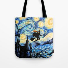 Potter Starry Night Tote Bag