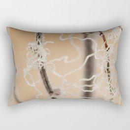 Frozen Plant Rectangular Pillow