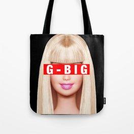 G-Big Barbie (Big Little) Tote Bag