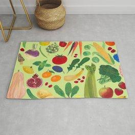 Fruits and Veggies Rug
