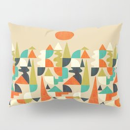 Mountains Hills and Rivers Pillow Sham