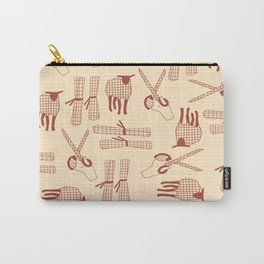 sheep Goats paper scissors Carry-All Pouch