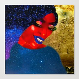 Queen of Stars Canvas Print