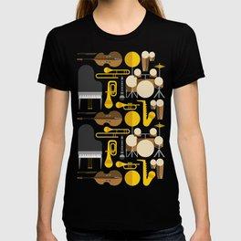 Jazz instruments T-shirt