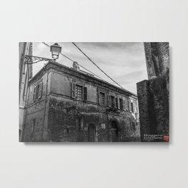 Italian Streets Metal Print