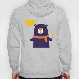 Purple Bear is Here Hoody