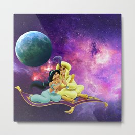 Aladin With Honey  Journey To Galaxi Stars Metal Print