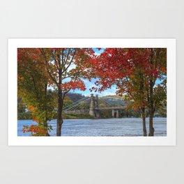 Perfectly Framed Art Print