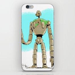Laputa Robot - Castle in the Sky iPhone Skin