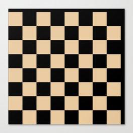 Chess Game Canvas Print