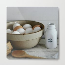 farmhouse morning Metal Print
