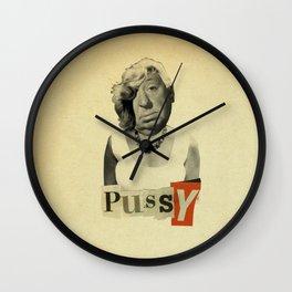 Pussy Wall Clock