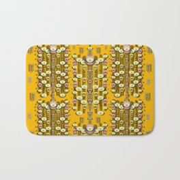 Rain showers in the rain forest of bloom and decorative liana Bath Mat
