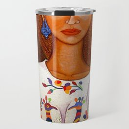 Metizo woman - heiress of cultures Travel Mug
