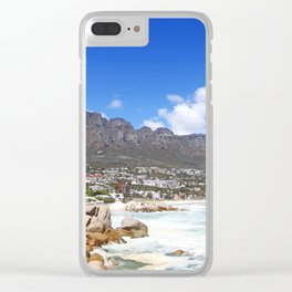 Lovely Cape Town, South Africa Clear iPhone Case