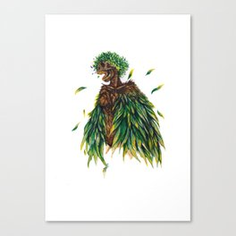 Nature's Lady Canvas Print