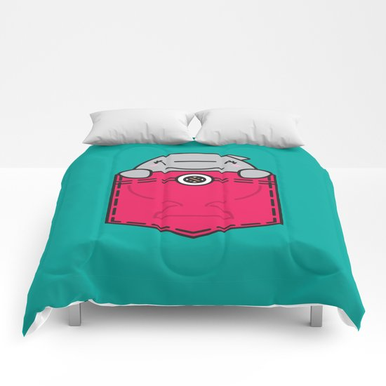 Pocket Dolphin Comforters