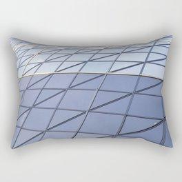 The Gherkin Abstract  Rectangular Pillow