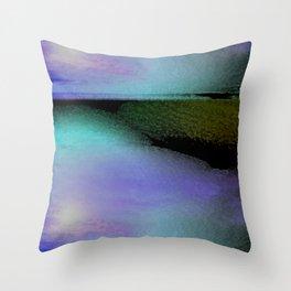 water landscape 1 Throw Pillow